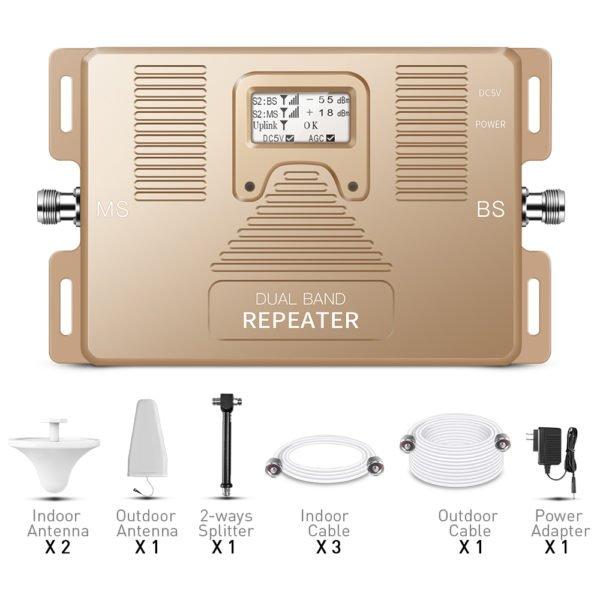 pro amplificador de banda dual en casa 3g