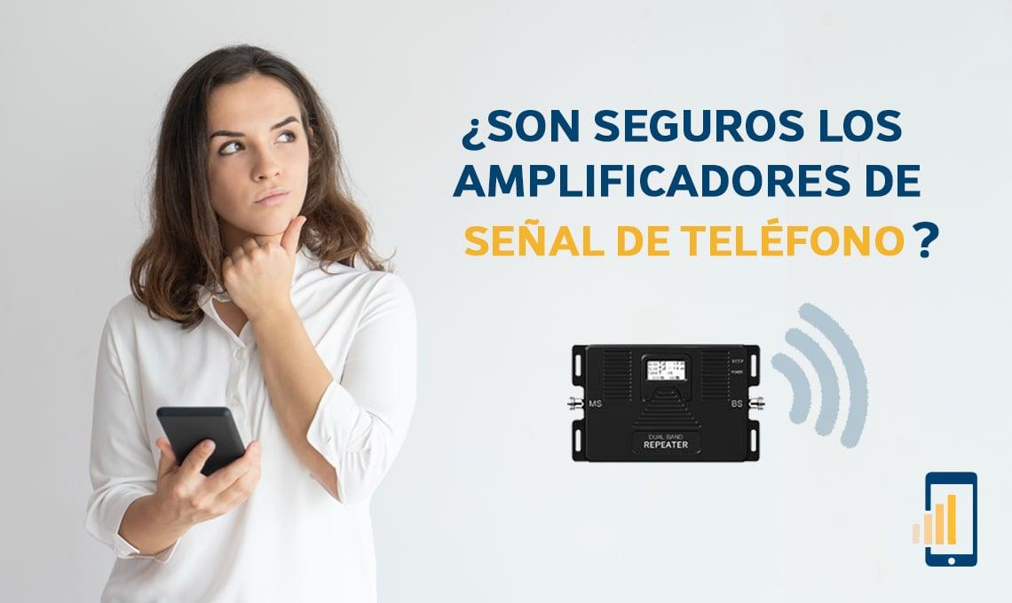 Son seguros los amplificadores de señal de teléfono móvil